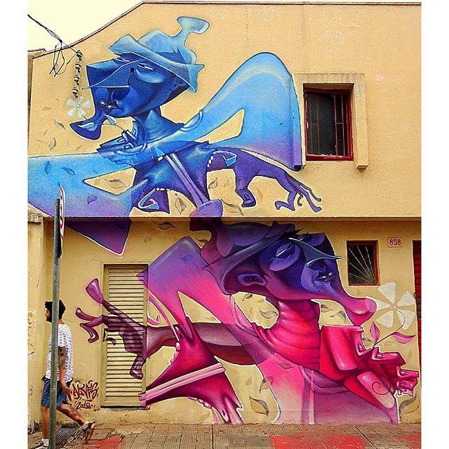 @lel1n в Рибейран-Прету (Бразилия). #lel1n #lelin #lelinalves #graffitisp #streetartsp #graffitisaopaulo #igersbrazil #ig_brazil #graffitibrazil #граффити_tschelovek #streetart #urbanart #graffiti #mural #стритарт #граффити #wallart #graffitiart #art #paint #painting #artederua #grafite #arteurbana #graffiticulture #streetart_daily #streetarteverywhere