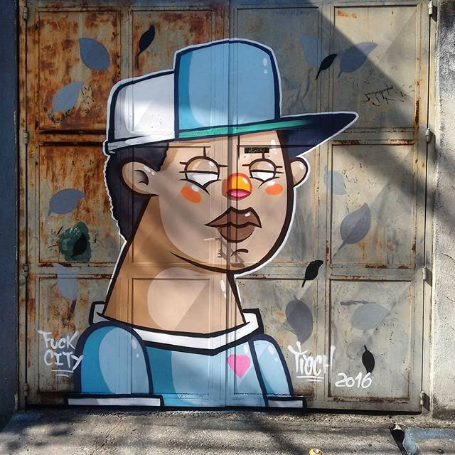 @tioch_fc нарисовал в Сан-Паулу. #tioch #graffitisp #graffitisaopaulo #streetartsp #streetartbrazil #streetartbrasil #streetartbr #brazilstreetart #graffitibrasil #brasilgraffiti #brazilgraffiti #igersbrazil #ig_brazil #graffitibrazil #граффити_tschelovek #streetart #urbanart #graffiti #mural #стритарт #граффити #wallart #artederua #arteurbana #streetart_daily #streetarteverywhere