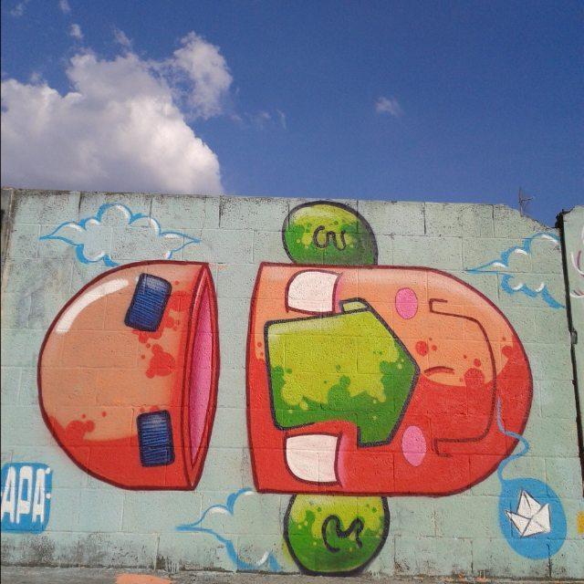 Domingão de sol na Vila Guilherme, valeu @mysterpeu pelo convite! #graffiti #graff #graffiart #graffitiart #streetartsp #streetart #arte #art #artist #apa #apaone #cores #colors #color #spart #spcolors #brazilianstyle #brazilianartist #brazilianart #style #urbanart #urbanstyle #urbanartist #character #maiscorporfavor #spraycans #brasil