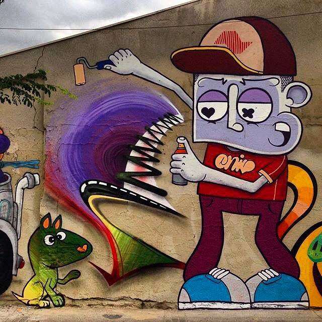 #Sp #streetarts #streetartsp #followme #instapic #instalove #instagramers #picoftheday #top #art #graffiti #latergram #chivitz