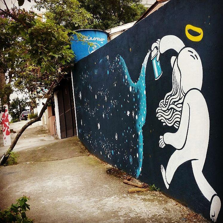 By @muretz. São Paulo. 04/02/2016 | @ricardokenski  #StreetArt #sãopaulo #streetartsp #muretz #graffiti #vandalogy2016 #urbanart #wallart #spraypaint