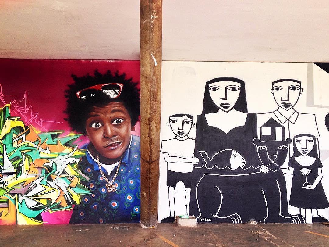 Contrastes. Arte grafite no Parque Ibirapuera,SP. **** #grafitesp #grafite #graffiti #streetartsp #mysynchronicity #artederua #arteurbana #urbanart #sampagraffiti #streetart #parqueibirapuera #saopaulo #saopaulowalk #parqueibirapuerasp #aquelasp #saopaulocity #olharesdesampa #saopaulo_originals #splovers #sparte #rolesp #mybeautifulsp #sp4you #supersaopaulo #exploresampa #sampaclick #sousampa #ilovesaopaulo #011sampa