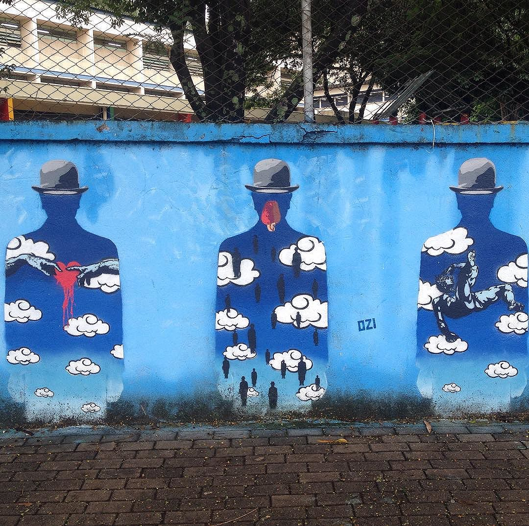 Cores de Sampa.. #streetart #streetartsp #artederuasp #graffitisp #atelieurbano #ruasdesampa #graffiti