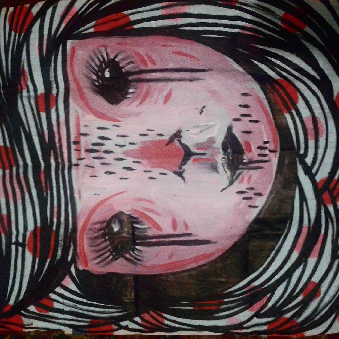 #lambendoparedes #lambelambe #colatudo #lesstintafresca #streetartsp