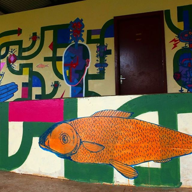 #rolinho #roller #urbanartist #grafittiporn #art #arte #streetart #streetartsp #streetartsaopaulo #streetartsampa #streetartbrasil #arteurbana #arteurbanasaopaulo #urbanart #brazilianstreetart #southamericanstreetart #artederua #artederuasp #artederuabrasil # tribal # totemicfuturism #totemicfuturism #tomwray #sampagrafitti #grafitti #grafite #wray #artistry #artist