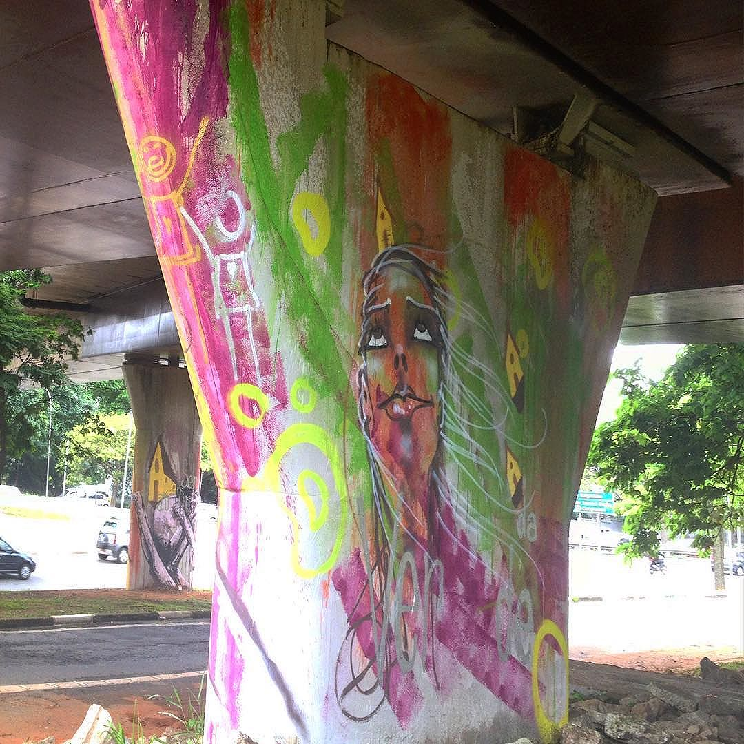 #streetartsp #streetart #mauro #graffiti #ver #veracidade #gente #verde #cartograffiti #imargem