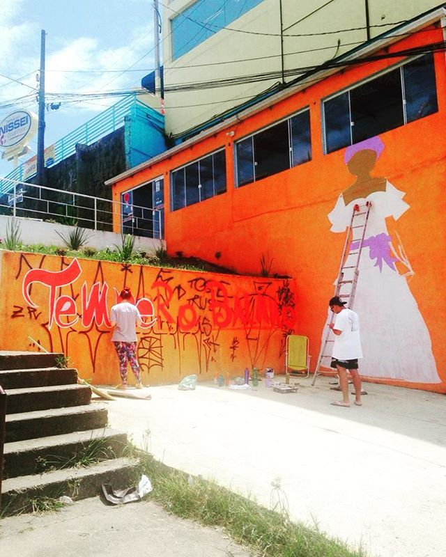 Trabalho de hj, comercial maracanã cm @srtka @poha_bozinha #grafittiart #graffitiigers #rsa_graffiti #thestreetsoflondon #streetartsp #brasil #real #graff #amazing