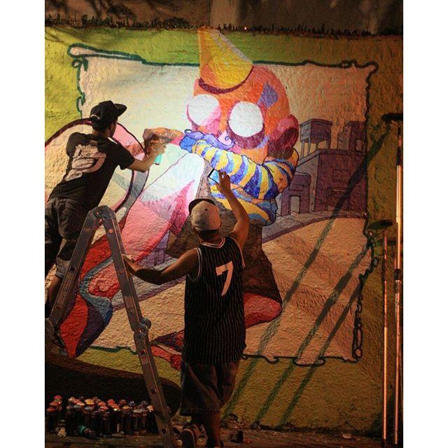 11 Encontro Niggaz, 2016. NIGGAZ VIVE!! Com meu mano @image_erc na contenção da luz!! @aliados321 #brazil #streetartsp #streetart #gregone #gregonebr #grego #11encontroniggaz #urbanart #niggaz #homenagem #temqueacreditar