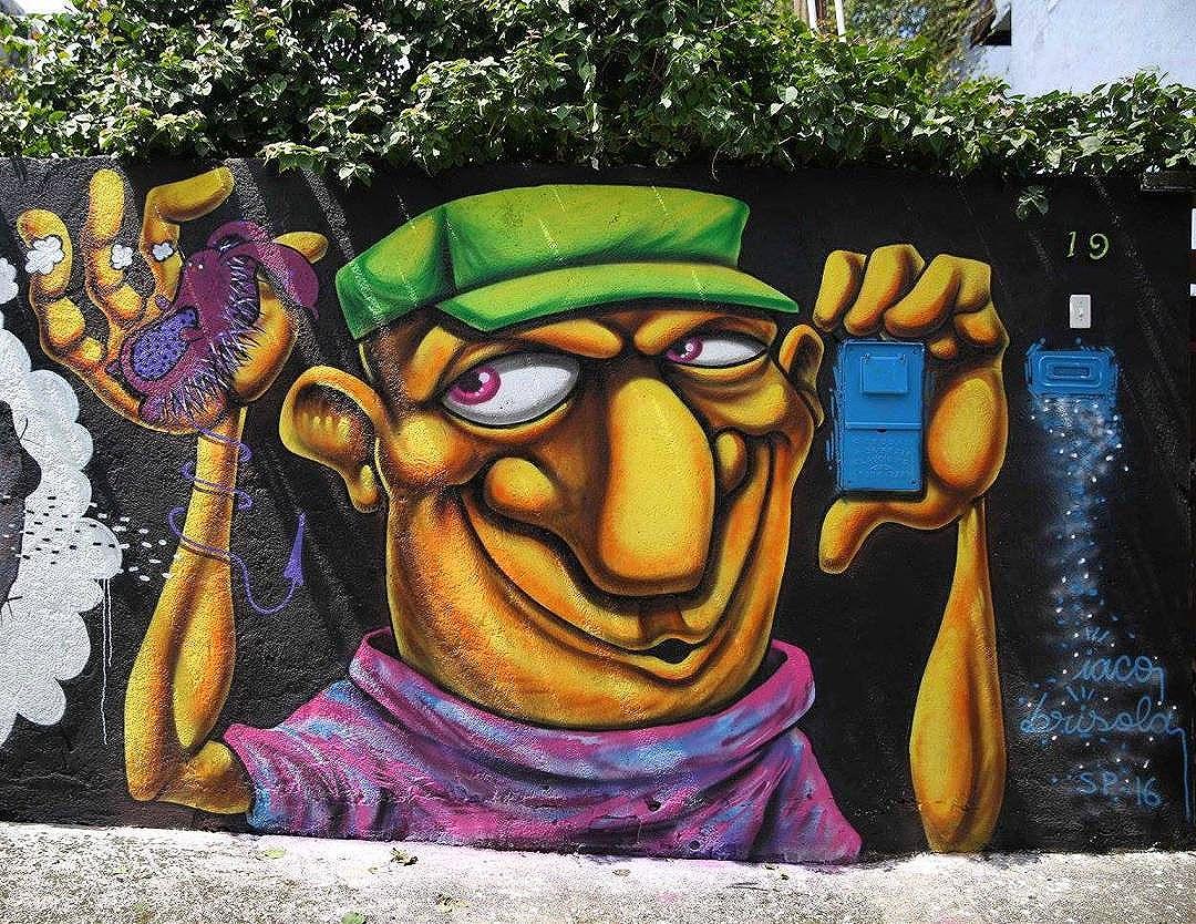 @brisolamoutinho в Сан-Паулу для @encontroniggaz. Photo by @madeira_photo. #brisola #brisolamoutinho #encontroniggaz #saopaulograffiti #graffitisp #graffitisaopaulo #streetartsp #streetartbrazil #streetartbrasil #streetartbr #brazilstreetart #graffitibrasil #brasilgraffiti #brazilgraffiti #igersbrazil #ig_brazil #graffitibrazil #streetart #urbanart #graffiti #wallart #graffitiart #wallpainting #artederua #arteurbana #muralart #graffitiwall #graffitiart #streetart_daily #streetarteverywhere