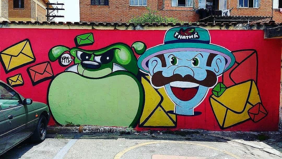 @mk.graffitioriginal + @thatha_grafites в Сан-Паулу. #mkgraffiti #thatha #saopaulograffiti #graffitisp #graffitisaopaulo #streetartsp #streetartbrazil #streetartbrasil #streetartbr #brazilstreetart #graffitibrasil #brasilgraffiti #brazilgraffiti #igersbrazil #ig_brazil #graffitibrazil #граффити_tschelovek #streetart #urbanart #graffiti #mural #стритарт #граффити #wallart #artederua #arteurbana #streetart_daily #streetarteverywhere