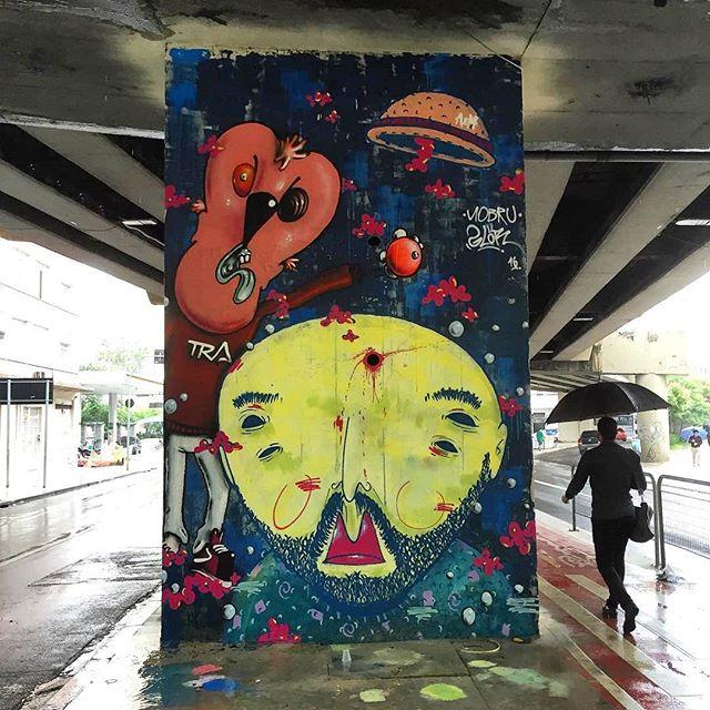 @mowscodelico + @nobrullshit в Сан-Паулу. Photo by @jabbakarin. #mowscodelico #nobrullshit #saopaulograffiti #graffitisp #graffitisaopaulo #streetartsp #streetartbrazil #streetartbrasil #streetartbr #brazilstreetart #graffitibrasil #brasilgraffiti #brazilgraffiti #igersbrazil #ig_brazil #graffitibrazil #граффити_tschelovek #streetart #urbanart #graffiti #mural #стритарт #граффити #wallart #artederua #arteurbana #streetart_daily #streetarteverywhere
