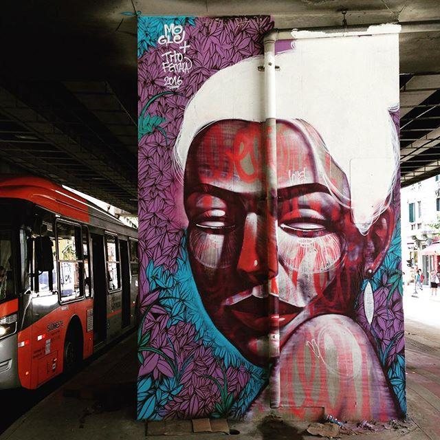 Amazing wall in Santa Cecilia, São Paulo (Minhocão). Artists: @andremogle & @titoferrara #mogle #titoferrara #minhocao #sambadograffiti #sampagraffiti #graffiti #graffiti_clicks #grafite #graf #streetart #streetartsp #streetphoto #streetarteverywhere #streetartphotography #spray #SPBGRAFITE #spraypaint #urbanwall #urbanart #wallart #saopaulo #brasil #rsa_graffiti #DSB_graff #braznu #sampa #tv_streetart #saopaulocity #tv_sa_simplicity_graff #streetartofficial