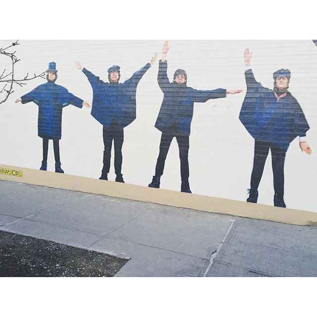Beatles no role @blazegallery in NY #blazesupply #blazegallery #honeypot #skt #skate #winwoodwalls #winwood #streetart #grafitesp #grafitero #gallery #graffiti #gravura #streetart #streetartsp #spart #spray #foralula #foradilma #vemprarua #becodobatman