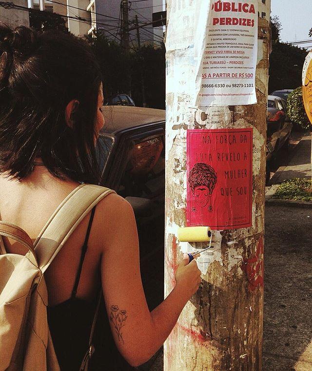 hoje é dia de luta  #fridafeminista