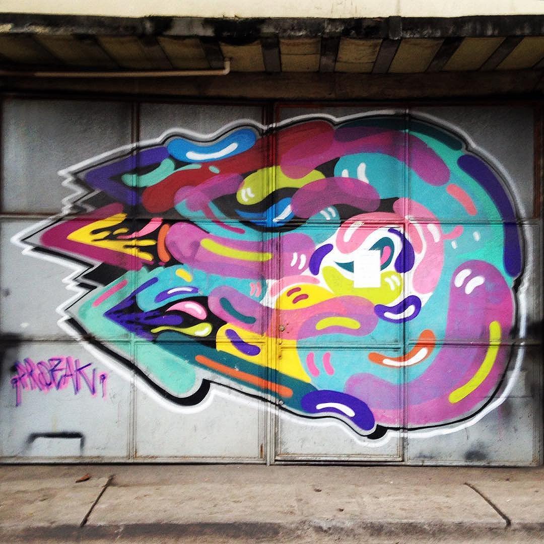 Psychedelic wall art of @prozak7 in Gamboa (Rio de Janeiro) #prozac #psychedelic  #sambadograffiti #sampagraffiti #graffiti #graffiti_clicks #grafite #graf #streetart #streetartsp #streetphoto #streetarteverywhere #streetartphotography #spray #SPBGRAFITE #spraypaint #urbanwall #urbanart #wallart #saopaulo #brasil #rsa_graffiti #DSB_graff #braznu #sampa #tv_streetart #saopaulocity #tv_sa_simplicity_graff #streetartofficial