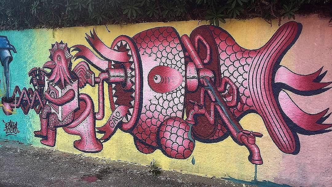 regram @tschelovek_graffiti @galograffiti в Сан-Паулу. #galosurreal #galograffiti #saopaulograffiti #graffitisp #graffitisaopaulo #streetartsp #streetartbrazil #streetartbrasil #streetartbr #brazilstreetart #graffitibrasil #brasilgraffiti #brazilgraffiti #igersbrazil #ig_brazil #graffitibrazil #граффити_tschelovek #streetart #urbanart #graffiti #mural #стритарт #граффити #wallart #artederua #arteurbana #streetart_daily #streetarteverywhere