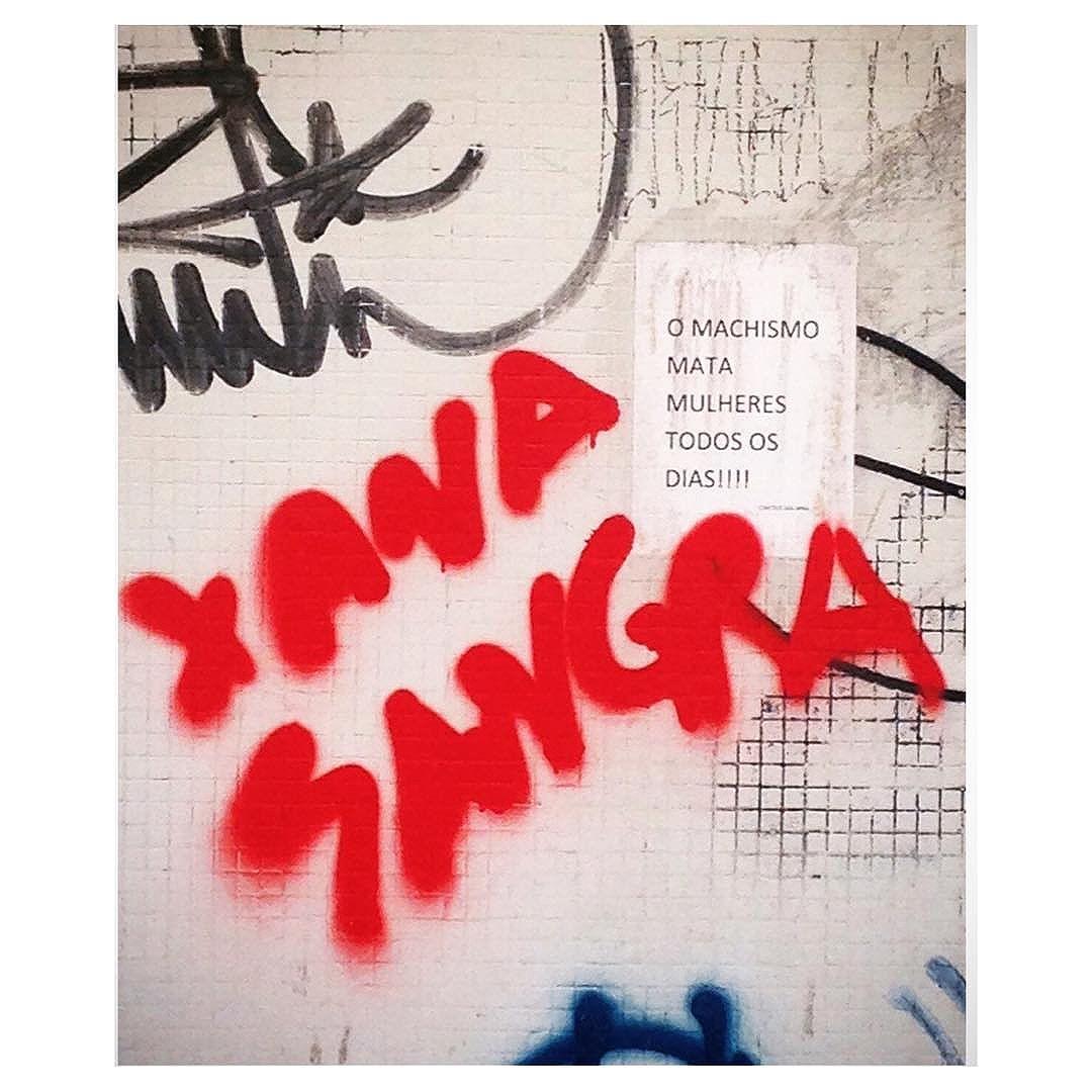 #silenciodasruas #olharesdesampa #sp #sampa #essepe #011 #saopaulo  #murosquefalam #olheosmuros #vozdarua #taescritoemsampa  #streetartsp #splovers #vinarua #acidadefala #intervencaourbana #corpo_cidade #streetartsp #linguagemdacidade #ruas #arteurbana #machismonao #grrlpower #feminismo