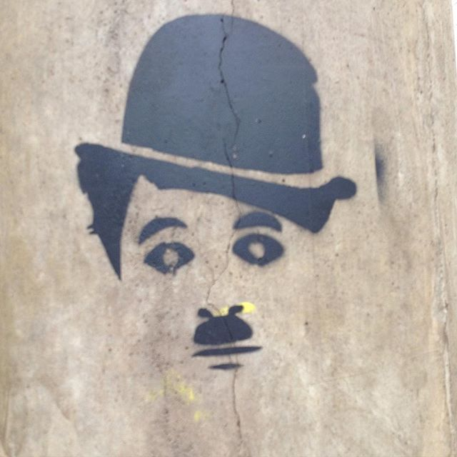 #streetart #streetartsp #streetartbrazil #urbanart #arteurbana #stencil #sampa #saopaulo #chaplin #charleschaplin