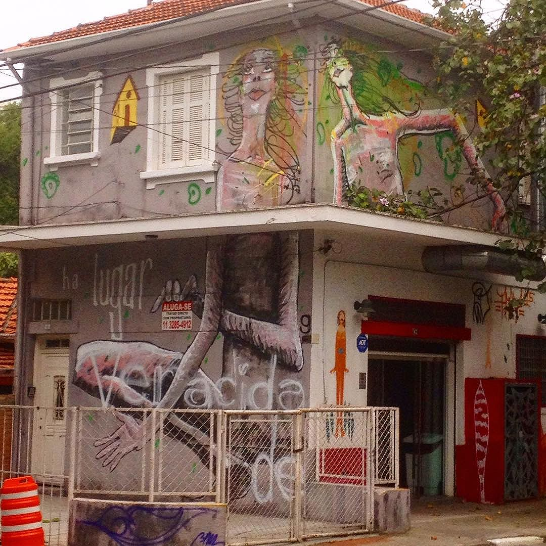 #veracidade #gente #graffiti #streetart #streetartsp #casa #lugar