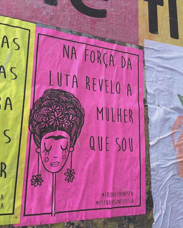 achou uma frida por aí? usa a hashtag #fridafeminista pra aparecer aqui!