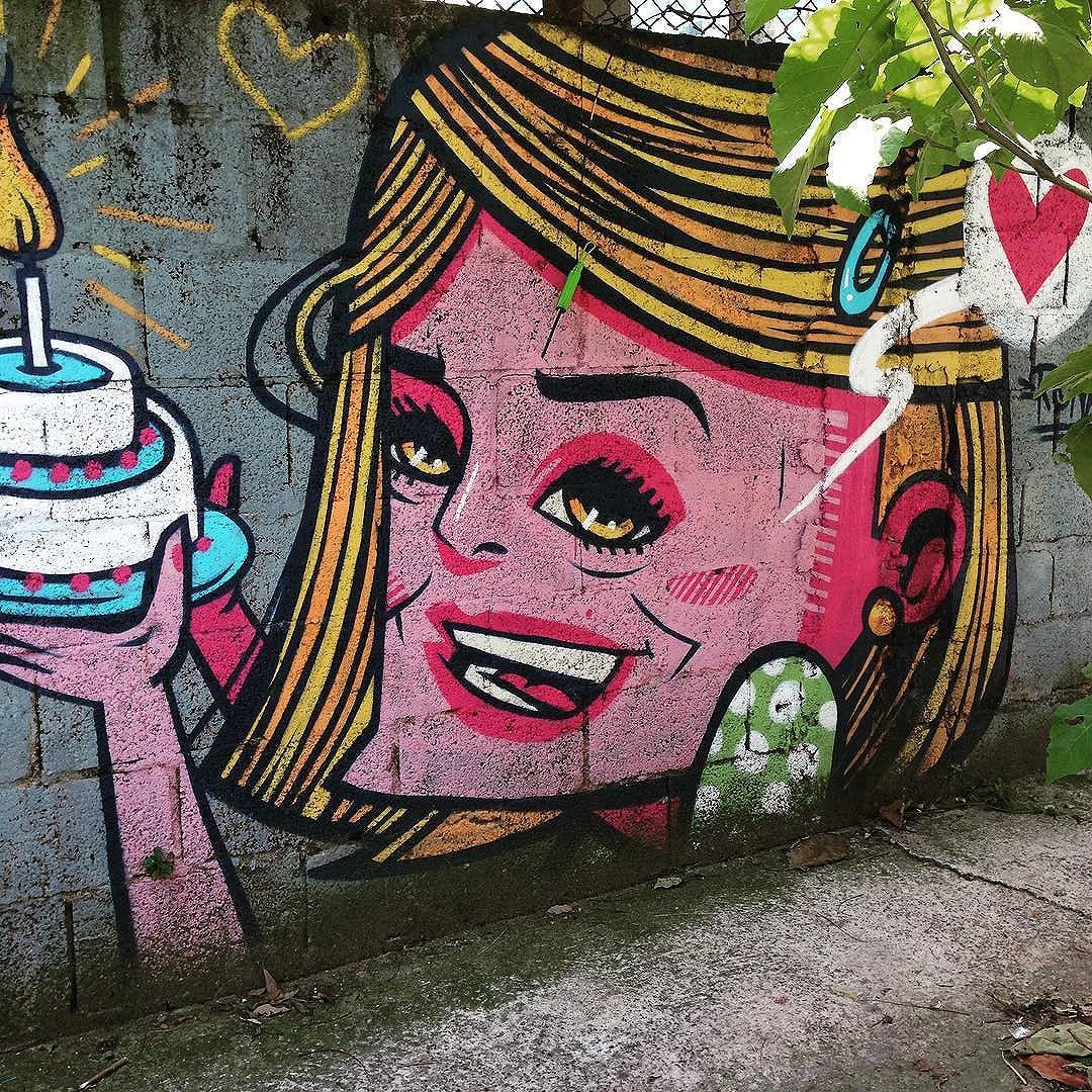 Mural do @ronahcarraro na Vila Olímpia  #ronahcarraro  #sambadograffiti #sampagraffiti #graffiti #graffiti_clicks #grafite #graf #streetart #streetartsp #streetphoto #streetarteverywhere #streetartphotography #spray #SPBGRAFITE #spraypaint #urbanwall #urbanart #wallart #saopaulo #brasil #rsa_graffiti #DSB_graff #braznu #sampa #tv_streetart #saopaulocity #tv_sa_simplicity_graff #streetartofficial #vilaolimpia