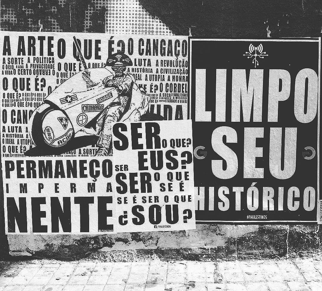 #paulestinos #cangakira #cangaço #cangaceiro #artederua #metafisica #artederuasp #urbanart #japan #akira #casadalapa #filosofia #ficcao #artederuasp #art #arte #arteurbana #artederua #streetart #metafisica #calle #rua #StreetArtSP #spwalk #lambelambe #taescritoemsampa #casarodante #poesia #poesiaderua #poesiademuro #poesiadepedra #poesiaconcreta #poesiaderua #poesiademuro