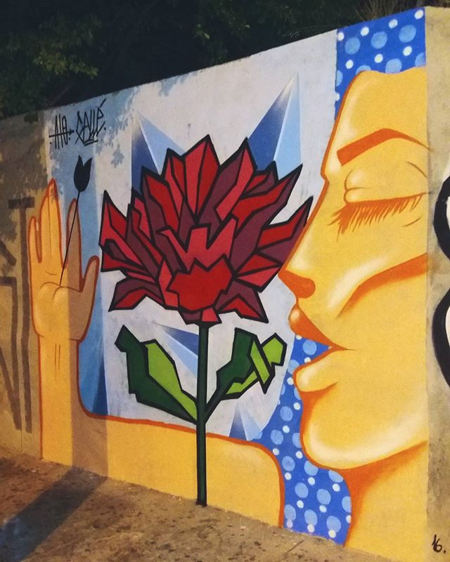 Trampo de hj com @guigalle tranzendo uma leitura da natureza geometrica, satisfação total. #streetart #streetartsp #globalstreetart #grafittisp #grafitti #art #artwork #contemporary #contemporaryart #posmodern #lisergica #pattern #geometric #psychedelic #urban #urbanart #rose #geometric #nature #women #power #feeling #arte #artecomtemporanea #artederua #saopaulo #Mooca