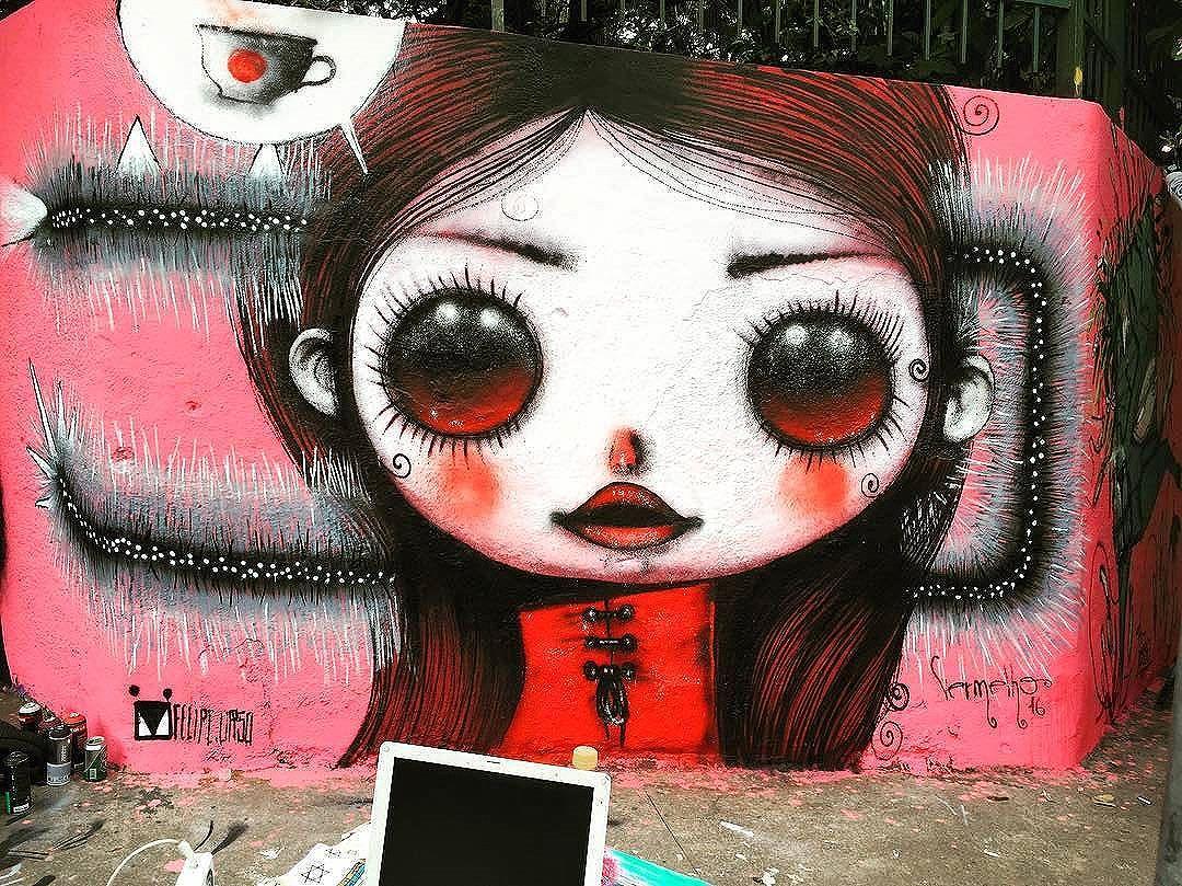 @felipe.urso + @vermelhosteam в Сан-Паулу для #graffitinapompeia. #felipeurso #vermelhosteam #saopaulograffiti #graffitisp #graffitisaopaulo #streetartsp #streetartbrazil #streetartbrasil #streetartbr #brazilstreetart #graffitibrasil #brasilgraffiti #brazilgraffiti #igersbrazil #ig_brazil #graffitibrazil #streetart #urbanart #graffiti #wallart #graffitiart #wallpainting #muralpainting #artederua #arteurbana #muralart #streetart_daily #streetarteverywhere