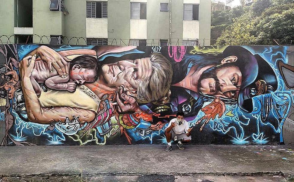 @gudassis in Sao Paulo. #gudassis #saopaulograffiti #graffitisp #graffitisaopaulo #streetartsp #streetartbrazil #streetartbrasil #streetartbr #brazilstreetart #graffitibrasil #brasilgraffiti #brazilgraffiti #igersbrazil #ig_brazil #graffitibrazil #streetart #urbanart #graffiti #wallart #graffitiart #wallpainting #muralpainting #artederua #arteurbana #muralart #streetart_daily #streetarteverywhere