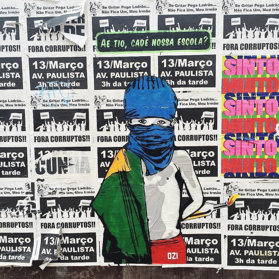 Aê tio não tem arrego!! #cadeamerenda #naotemarregoalckimim #ozi #ozistencil #stêncil #estencilbrasil #estencil #stencilart #stencilism #streetartsp #sampagraffiti