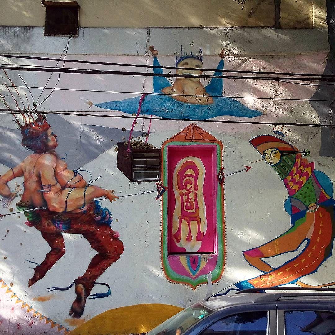 By @acidumproject. São Paulo. 27/05/2016 | vandalogy #streetart #acidumproject #streetartsp #graffiti #pinheiros #spraypaint