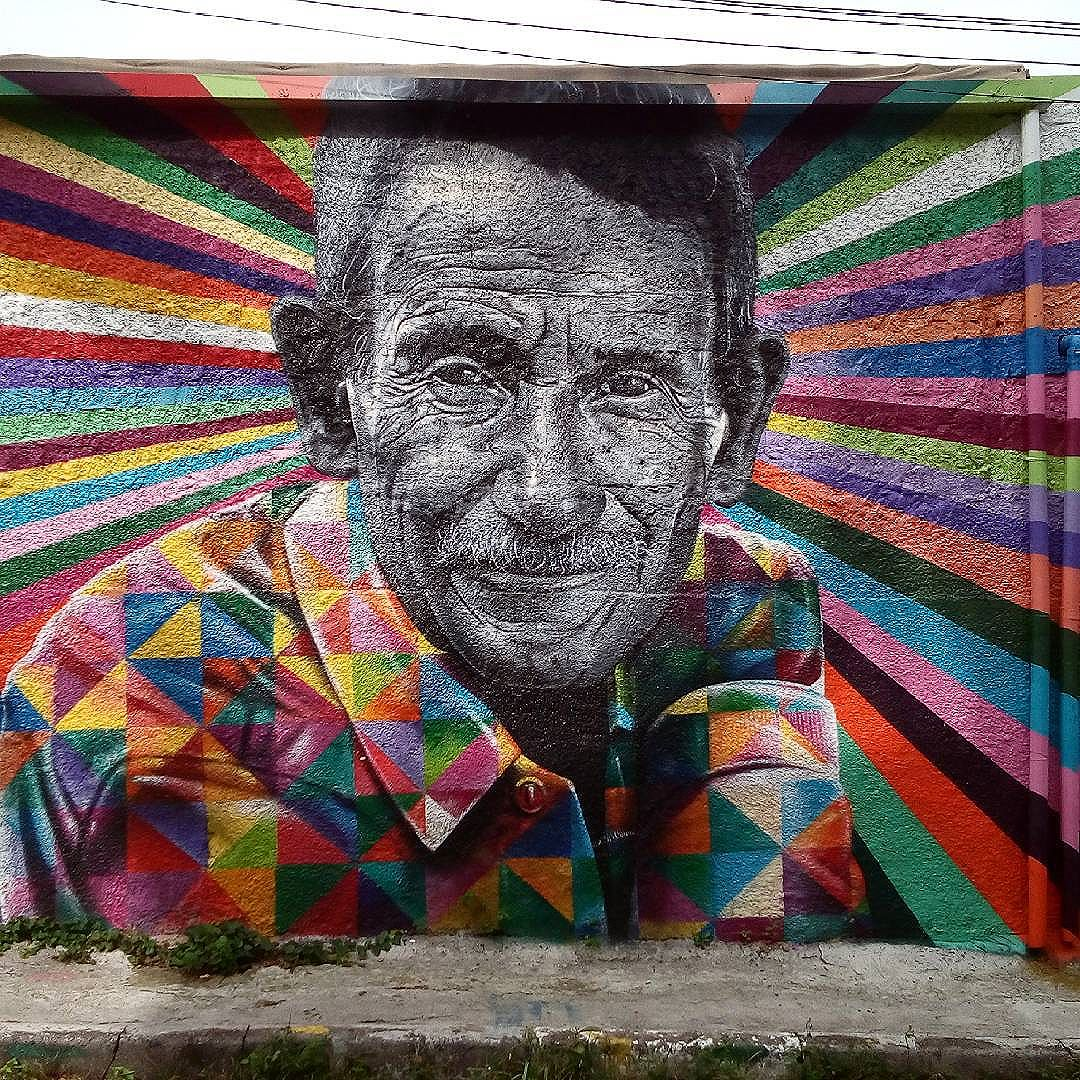 By @kobrastreetar. São Paulo. 27/05/2016 | vandalogy #streetart #kobra #streetartsp #graffiti #vilamadalena