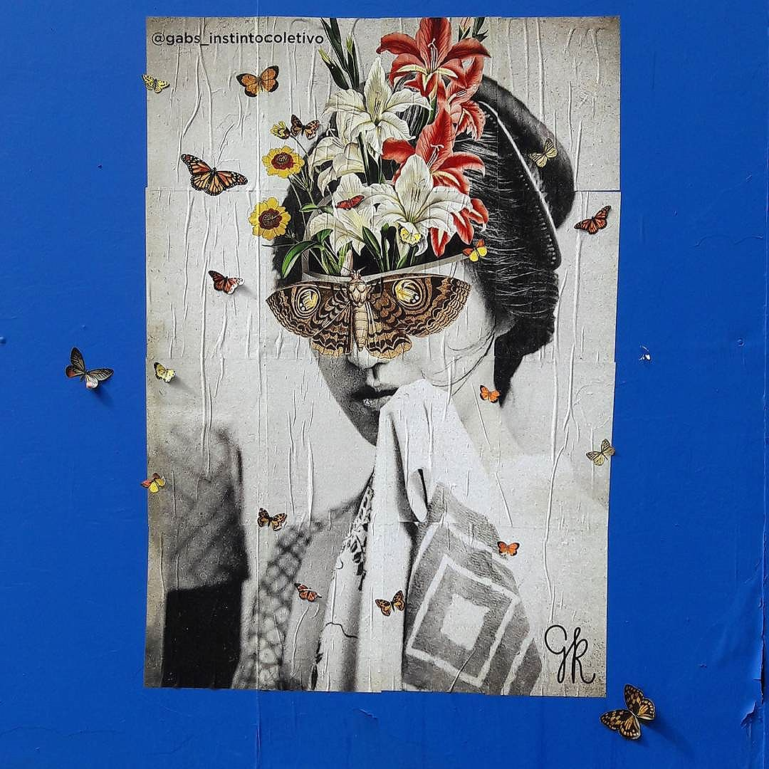 Lambe-lambe de pura digital arte Artista: @gabs_instintocoletivo  #gabsinstinctcoletivo  #sambadograffiti #sampagraffiti #graffiti #graffiti_clicks #grafite #graf #streetart #streetartsp #streetphoto #streetarteverywhere #streetartphotography #spray #bagarre #spraypaint #urbanwall #urbanart #wallart #saopaulo #brasil #rsa_graffiti #bikini #braznu #sampa #tv_streetart #saopaulocity #tv_sa_simplicity_graff #streetartofficial #colagem #paulista