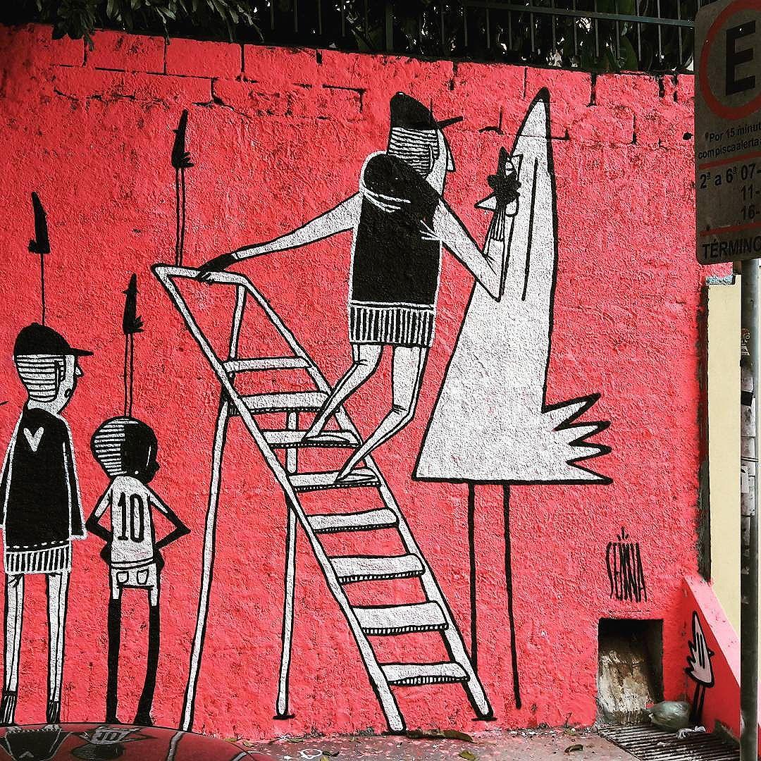 Lindo trabalho do @alexsenna na Pompeia (São Paulo) #alexsenna #pompeia #sambadograffiti #sampagraffiti #graffiti #graffiti_clicks #grafite #graf #streetart #streetartsp #streetphoto #streetarteverywhere #streetartphotography #spray #bagarre #spraypaint #urbanwall #urbanart #wallart #saopaulo #brasil #rsa_graffiti #bikini #braznu #sampa #tv_streetart #saopaulocity #tv_sa_simplicity_graff #streetartofficial
