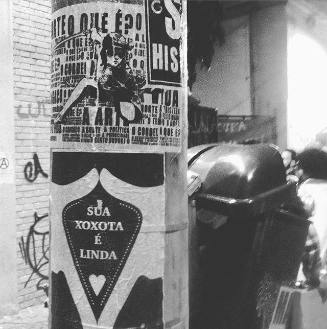 Ocupa Funarte! #paulestinos #lambeb_ceta #lambe-lambe #lambelambe #colagem #poesiadeposte #streetartsp #sãopaulo #sp #contragolpe #arte #arteurbana #artederua