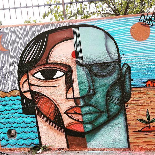 One face, two artists: @pixotemushi & @andrefilur  #pixote #filur #sambadograffiti #sampagraffiti #graffiti #graffiti_clicks #grafite #graf #streetart #streetartsp #streetphoto #streetarteverywhere #streetartphotography #spray #bagarre #spraypaint #urbanwall #urbanart #wallart #saopaulo #brasil #rsa_graffiti #bikini #braznu #sampa #tv_streetart #saopaulocity #tv_sa_simplicity_graff #streetartofficial #pompeia