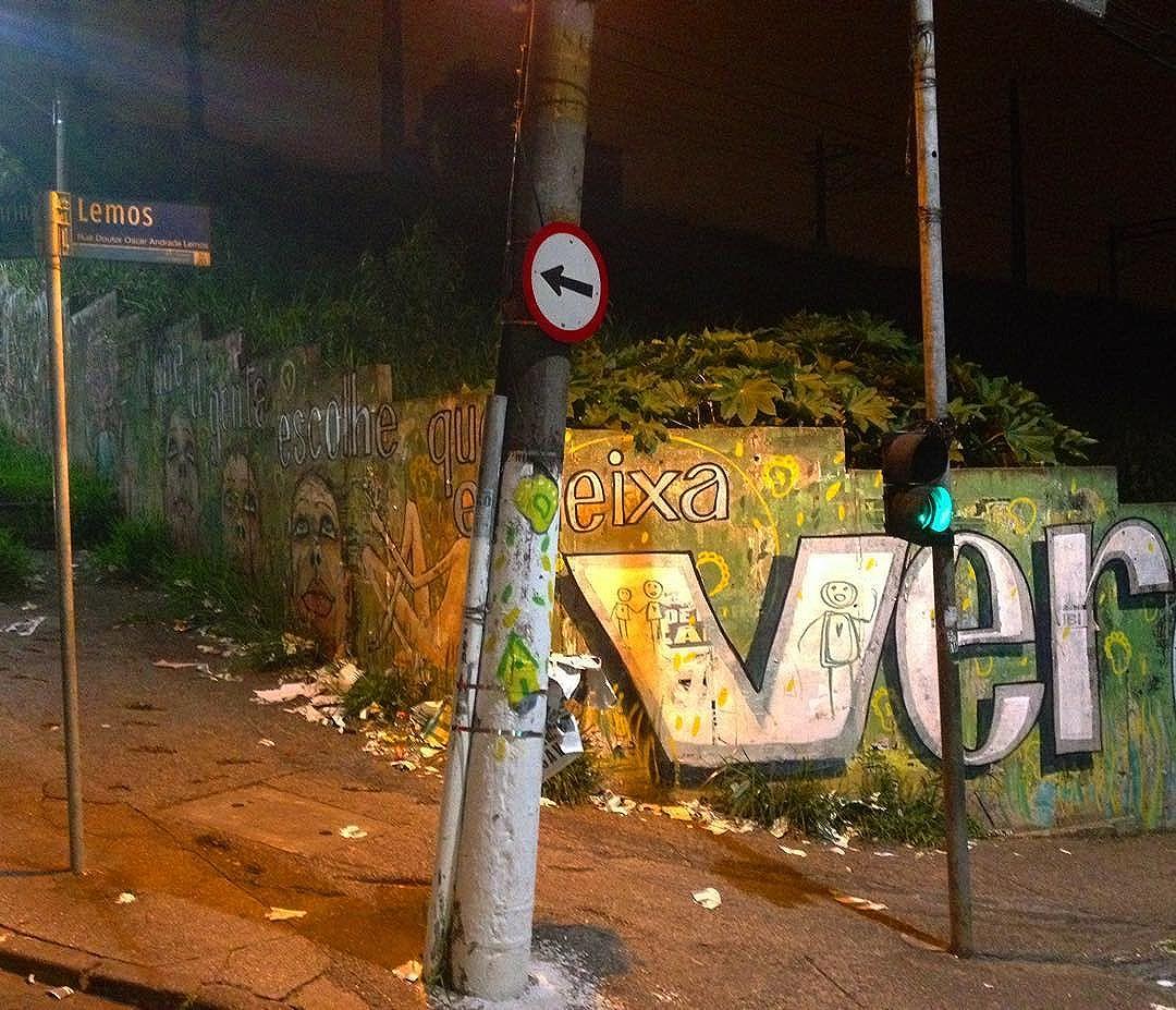 #veracidade #ver #deixaver #gente #streetartsp #graffiti