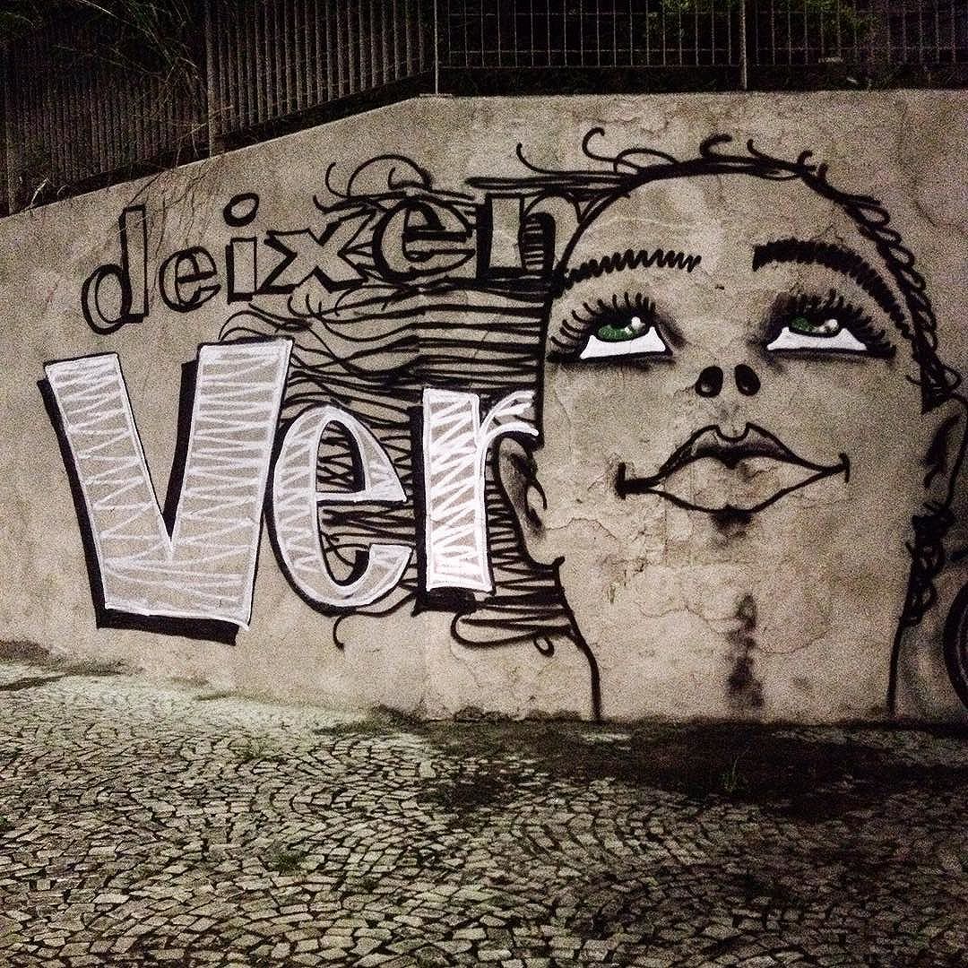 #veracidade #ver #deixemver #gente #streetart #streetartsp #graffiti