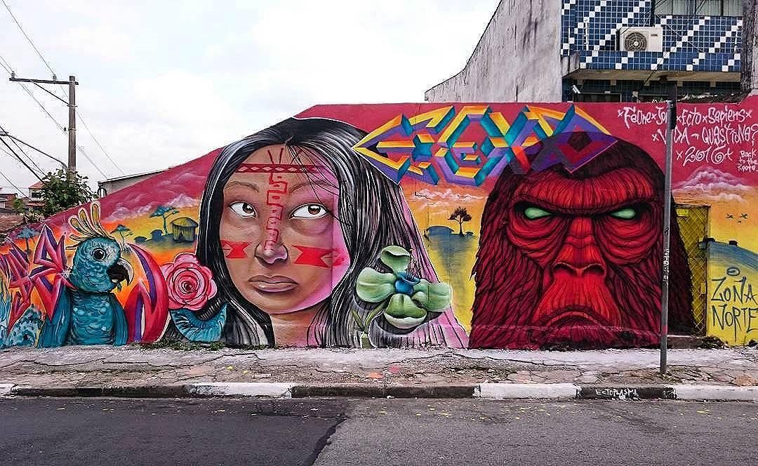 @fe_one1 + @joks_johnes + @monsterectoplasma + @sapiens_questione in Sao Paulo. #feone #joksjohnes #joks #monsterectoplasma #questione #saopaulograffiti #graffitisp #graffitisaopaulo #streetartsp #streetartbrazil #streetartbrasil #streetartbr #brazilstreetart #graffitibrasil #brasilgraffiti #brazilgraffiti #igersbrazil #ig_brazil #graffitibrazil #streetart #urbanart #graffiti #wallart #graffitiart #wallpainting #muralpainting #artederua #arteurbana #streetart_daily #streetarteverywhere