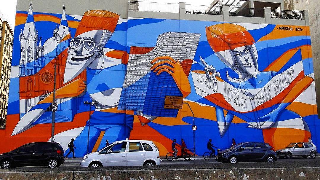 @marceloeco in Sao Paulo. #marceloeco #saopaulograffiti #graffitisp #graffitisaopaulo #streetartsp #streetartbrazil #streetartbrasil #streetartbr #brazilstreetart #graffitibrasil #brasilgraffiti #brazilgraffiti #igersbrazil #ig_brazil #graffitibrazil #streetart #urbanart #graffiti #wallart #graffitiart #wallpainting #muralpainting #artederua #arteurbana #muralart #streetart_daily #streetarteverywhere