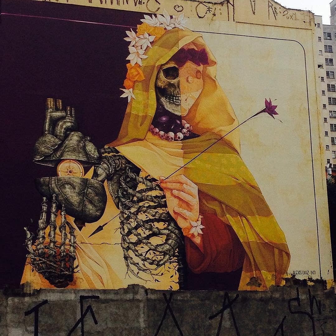 Bom dia! #streetart #streetartsp #artederua #artederuasp #atelieurbano #graffiti #graffitisp #saopaulo #brasil