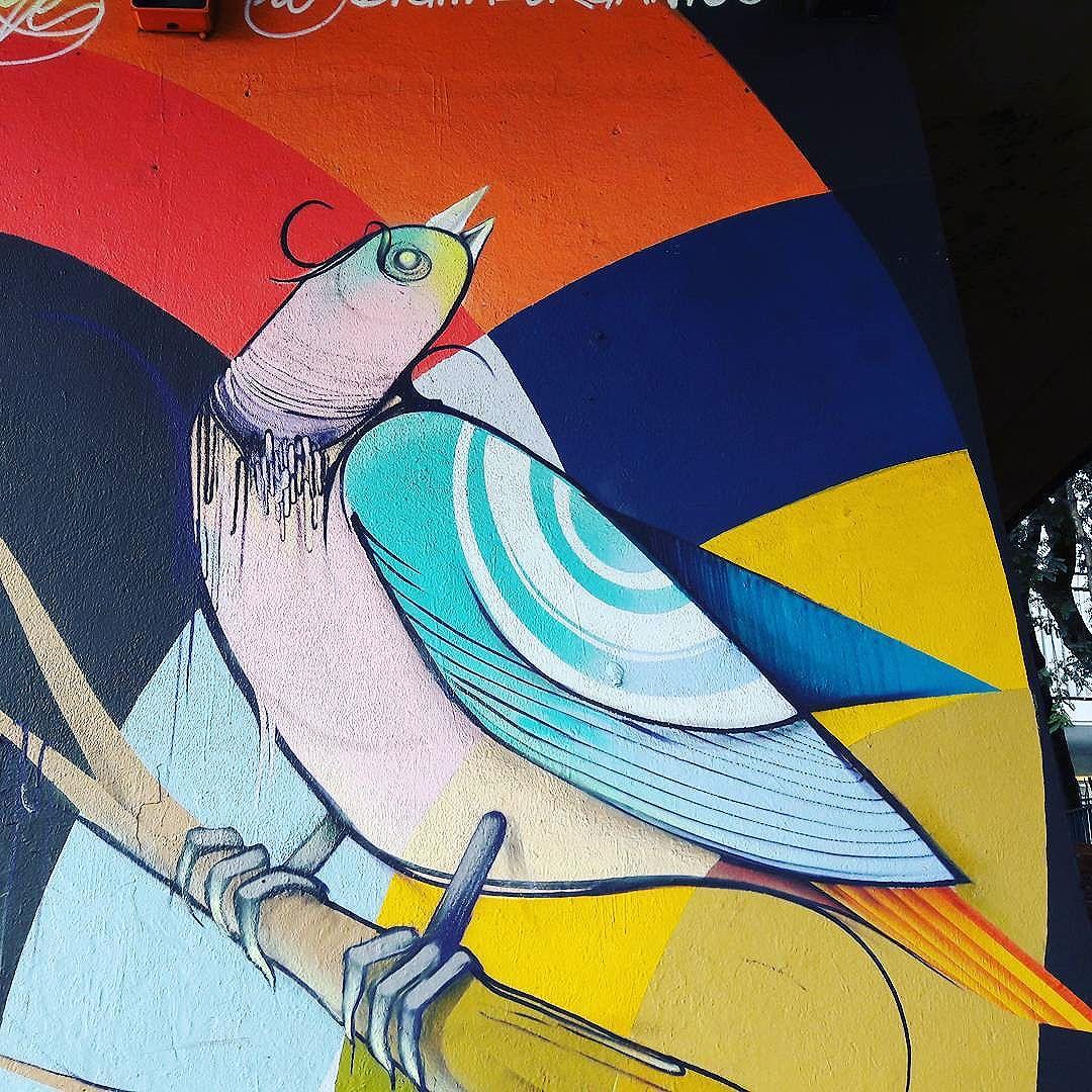 Colorful wall art by Nove (@digitalorganico) #nove #digitalorganico #ibirapuera #sambadograffiti #sampagraffiti #graffiti #graffiti_clicks #grafite #graf #streetart #streetartsp #streetphoto #streetarteverywhere #streetartphotography #spray #bagarre #spraypaint #urbanwall #urbanart #wallart #saopaulo #brasil #rsa_graffiti #braznu #sampa #tv_streetart #saopaulocity #tv_sa_simplicity_graff #streetartofficial