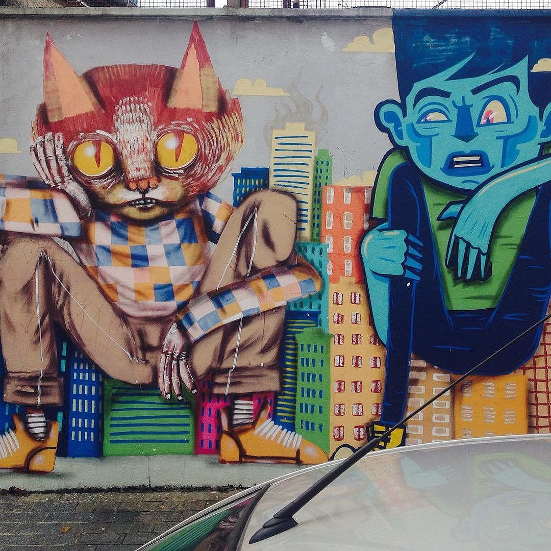 Cores de Sampa.. #streetart #streetartsp #artederua #artederuasp #graffitisp #graffiti #coresdesampa #urbanart