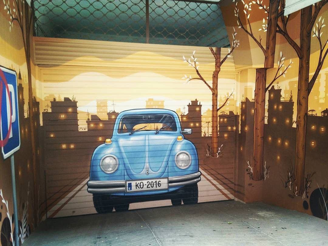 Entrada a parking #arteurbano #arteurbanobarcelona #arturbain #arturba #arturban #arteurbana #urbanarts #streetartsp #streetartphotography #streetartspain # #urbanartist #streetartist