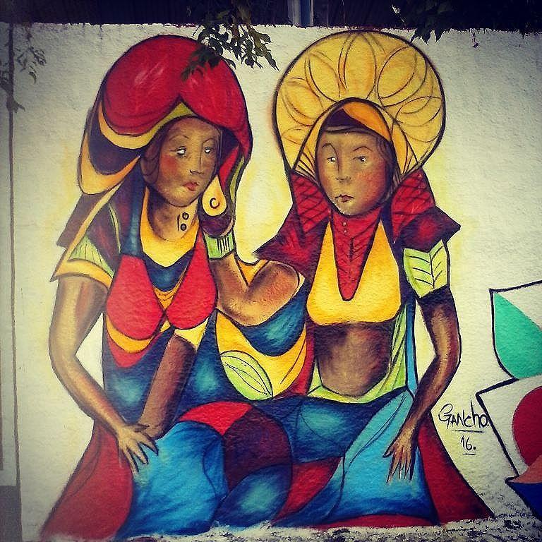 Mais um #graffiti #streetart #streetartsp #Sprayart #art #spray #colors #women #ganchoart #lugancho