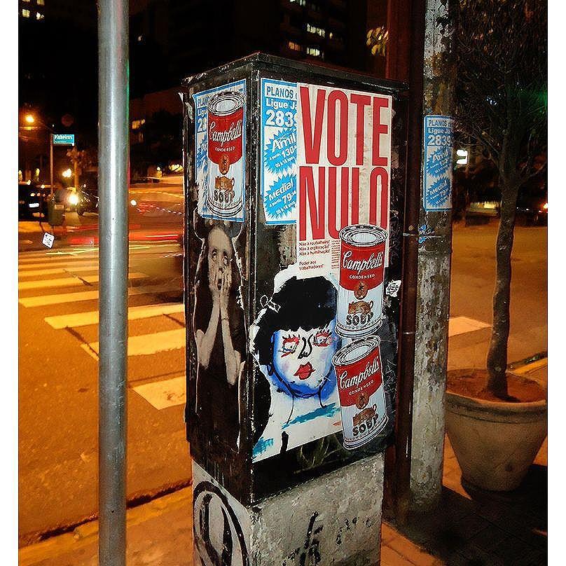 #major_art #streetart #streetartsp #StreetArtSP #stickers #sticker #arteurbanasp #arteurbana #lambelambes #lambelambesp #streetarteverywhere #lambelambe #urbanart #pasteups #taescritoemsampa #oqueasruasfalam #wallporn #wheatpaste #urbanartist #lambe #manifesto #intervencaourbana #artemarginal #streetartnews