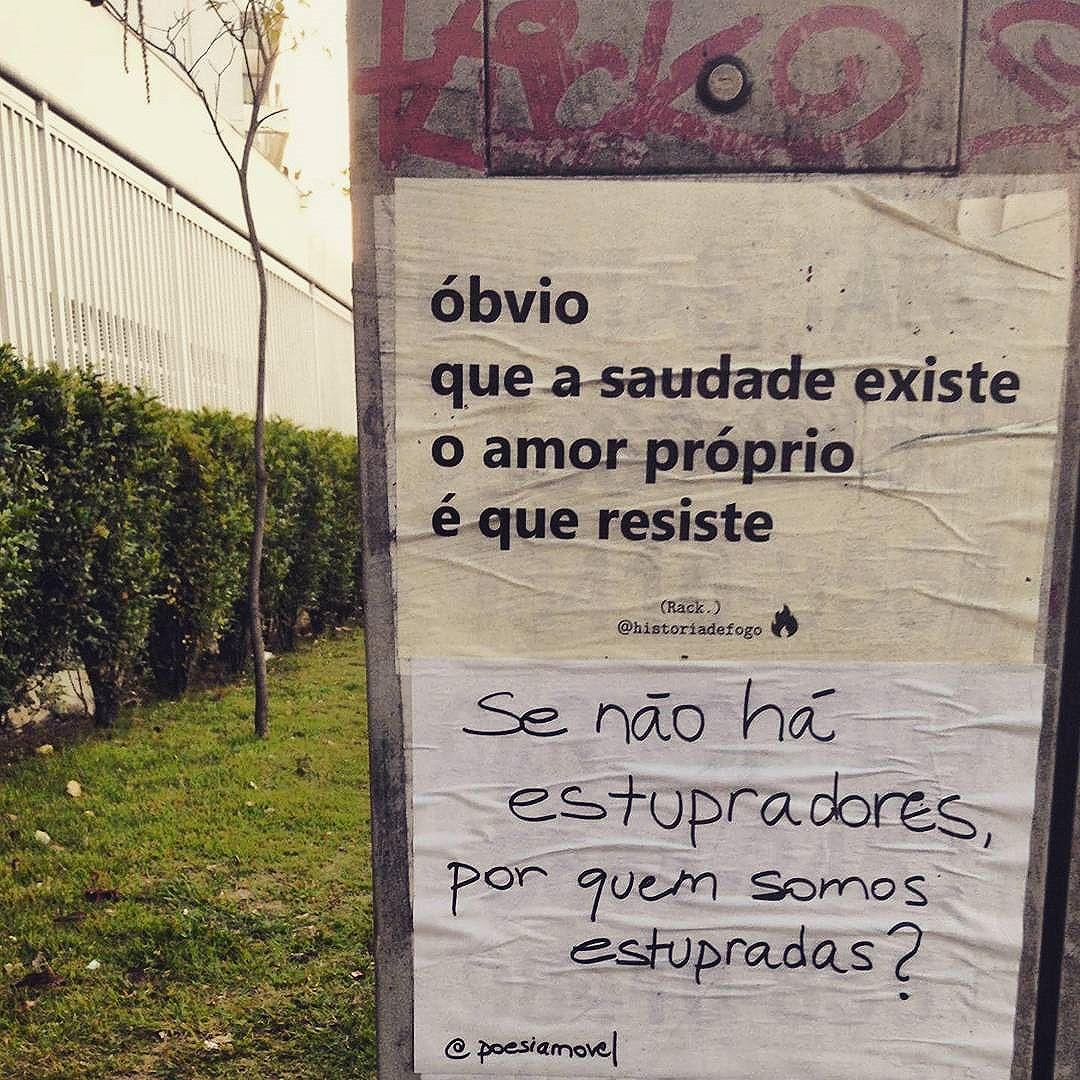 Óbvio!  Viu um lambe meu por aí? Me marca. Vai compartilhar? Não esqueça de me citar.   #boanoite #historiadefogo #lambelambe  #artederua #urbanismo #gordofobia  #olheosmuros #urbanart #poesia  #empoderamento  #feminismo  #pelosmuros #poesiaderua  #lamblamb  #streetart #taescritoemsampa #txturbano #misturaurbana #oqueosmurosfalam  #splovers #sp4you #igerssp #streetartsp #vinarua #arteurbana #vozesdacidade