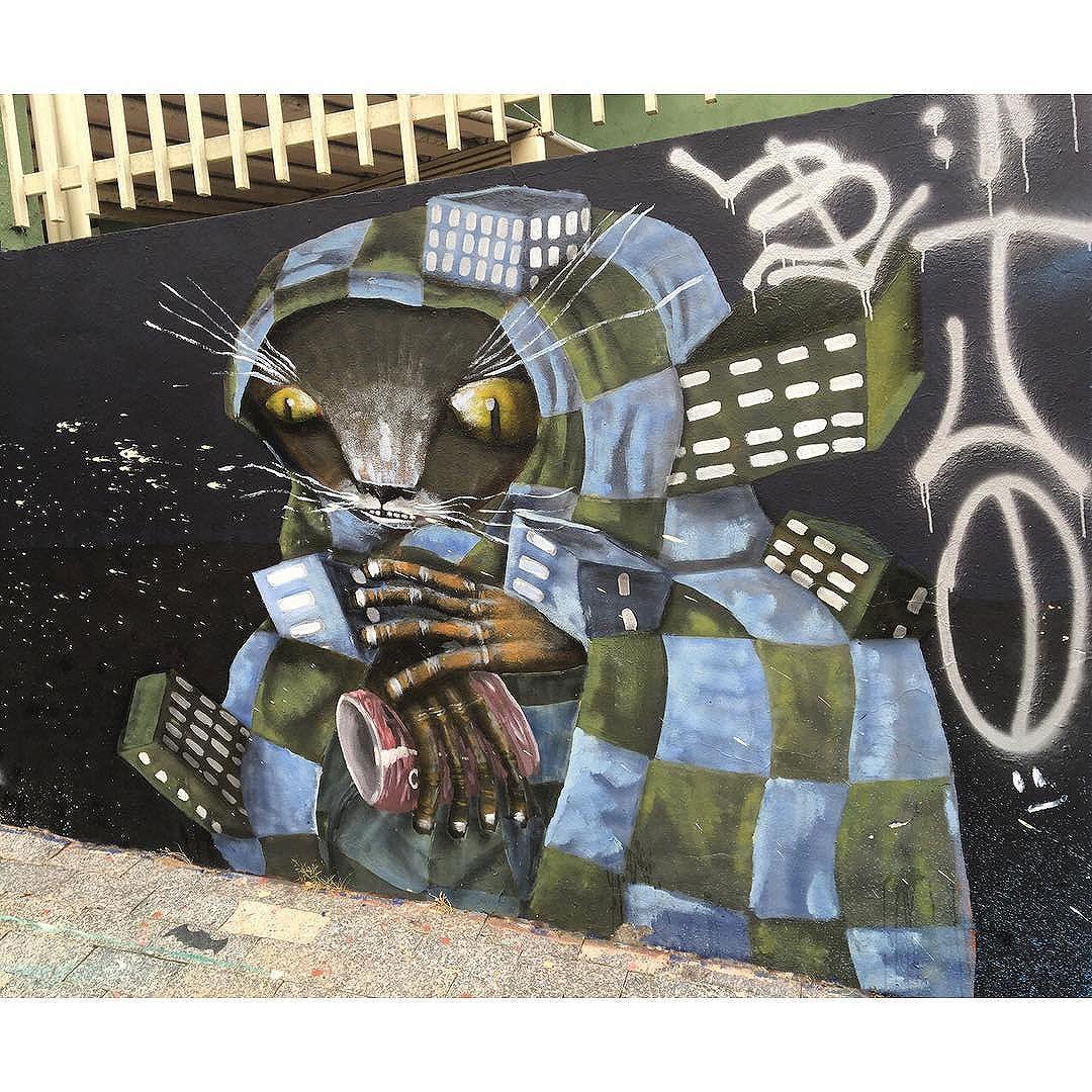 Street Art em Sampa Data:20160407 Câmera: #iPhone6s Photo: J Goncalves #youdoArt