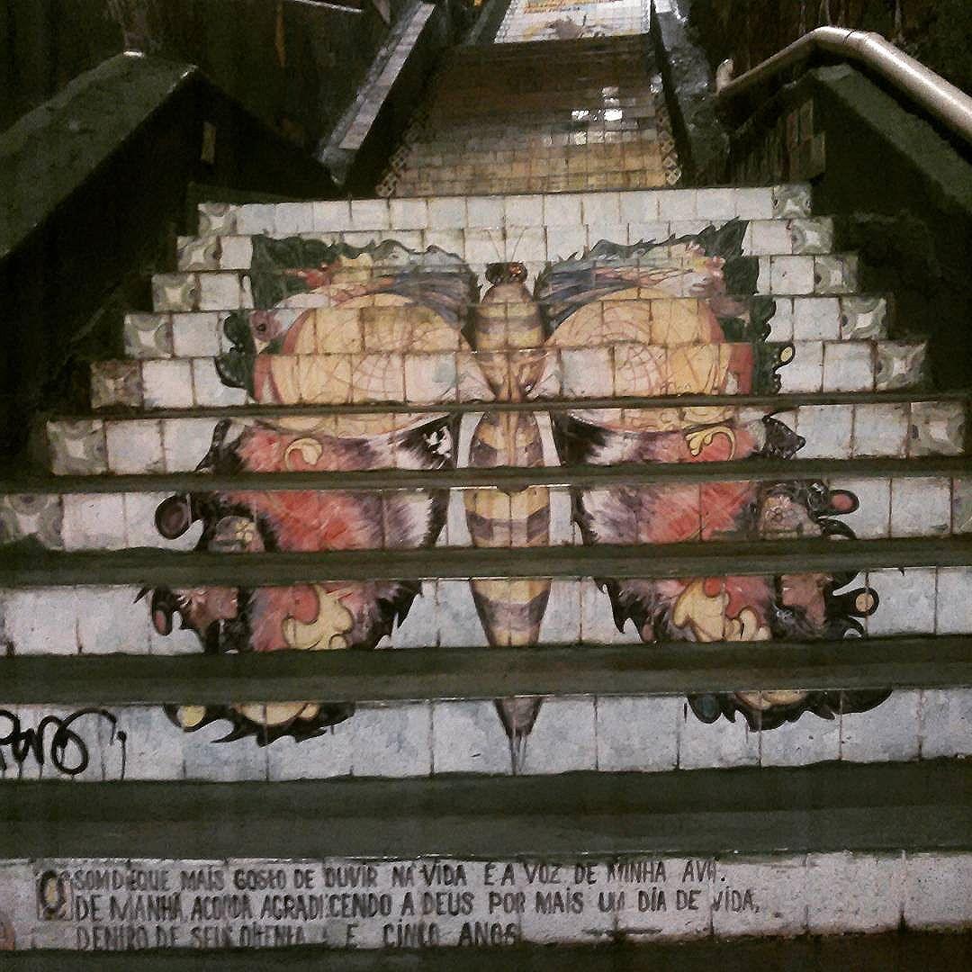 #streetart #streetartsp #instadaily #artepratodos #instagood #nice #butterfly #borboletas