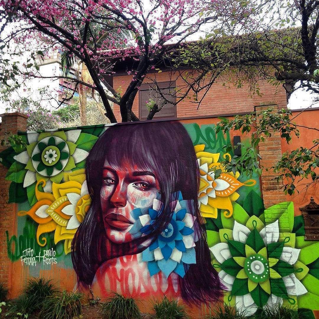 @danroots + @titoferrara in Sao Paulo. #danroots #titoferrara #saopaulograffiti #graffitisp #graffitisaopaulo #streetartsp #streetartbrazil #streetartbrasil #streetartbr #brazilstreetart #graffitibrasil #brasilgraffiti #brazilgraffiti #igersbrazil #ig_brazil #graffitibrazil #streetart #urbanart #graffiti #wallart #graffitiart #wallpainting #muralpainting #artederua #arteurbana #muralart #streetart_daily #streetarteverywhere